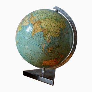 Vintage Globe by Columbus Verlag Paul Oestergaard K. G. for W. Kamdem