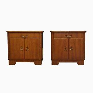 Muebles estilo Art Déco, años 60. Juego de 2