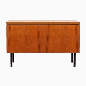 Mid-Century Steel and Teak Dresser, 1960s