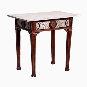 Antique Louis XVI Wooden Console Table