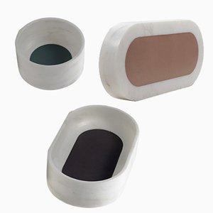 Fondali Emersi Behälter von Gumdesign für La Casa di Pietra, 3er Set
