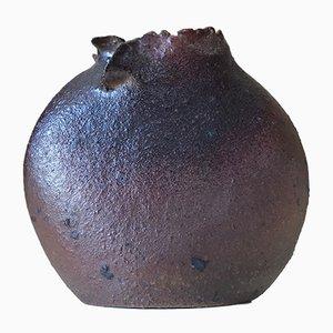 Vintage Stoneware Vase by Jean Paul Brunet, 1970s