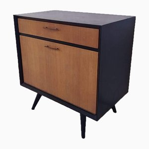 Small Mid-Century Wooden Cabinet, 1960s