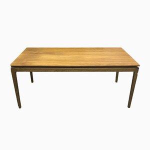 Scandinavian Oak Dining Table, 1970s