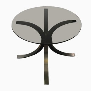 Steel Side Table by Osvaldo Borsani for Tecno, 1970s