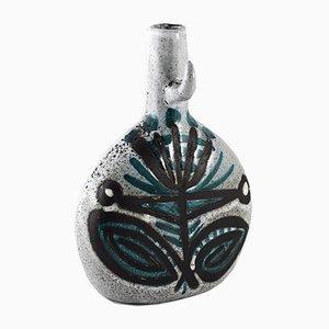 Jarrón de cerámica de Roger Capron, años 50