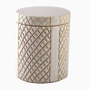 Pot à Couvercle Mid-Century en Céramique par Pol Chambost