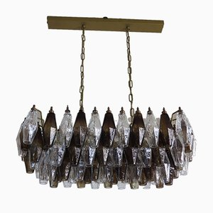 Vintage Italian Glass Chandelier, 1978