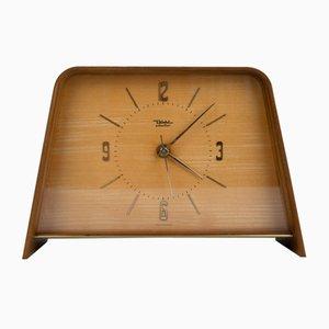 Reloj de mesa alemán Mid-Century de Diehl, años 60