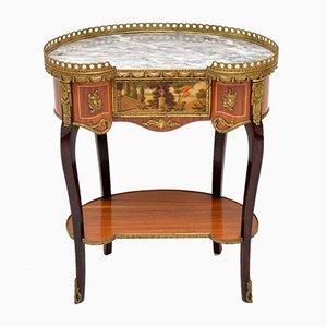 Table d'Appoint de Style Antique en Marbre, France, 1930s