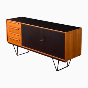 German Steel and Teak Sideboard from WK Möbel, 1960s