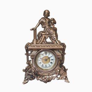 Horloge de Cheminée Antique de Ansonia
