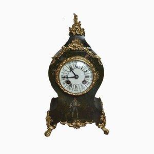 Reloj de repisa francés estilo Luis XVI antiguo