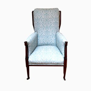 Antique Arts and Crafts Mahogany Armchair
