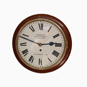 Antike Uhr aus Mahagoni