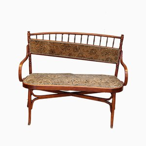 Antique Bentwood Settee