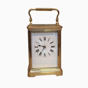 Reloj francés antiguo de latón