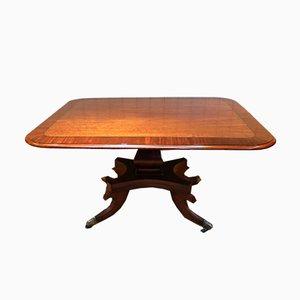 Table de Salle à Manger Antique en Acajou