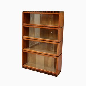 Vintage Walnut Stacking Bookcase, 1930s