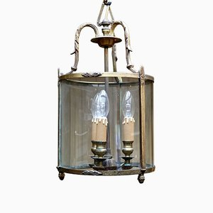 Antique French Gilt 3-Arm Hall Lantern