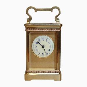 Orologio antico in ottone, Francia