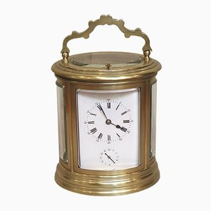 Antique French Repeat and Alarm Carriage Clock