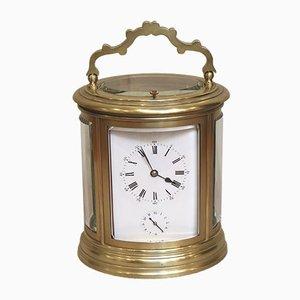 Reloj francés antiguo con alarma