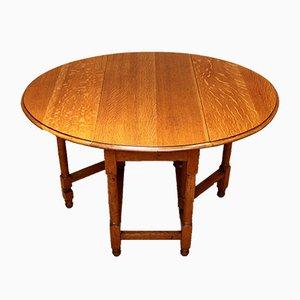 Vintage Oak Gateleg Table, 1920s