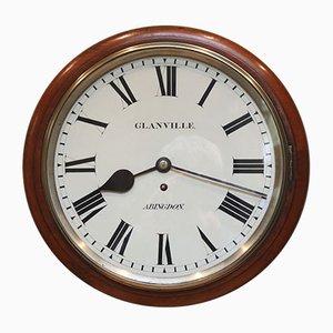 Orologio antico in mogano