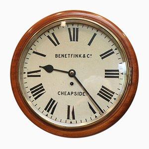 Horloge Antique en Acajou