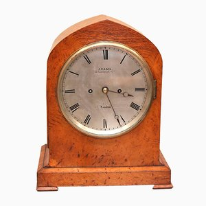Antique Burr Oak Bracket Clock