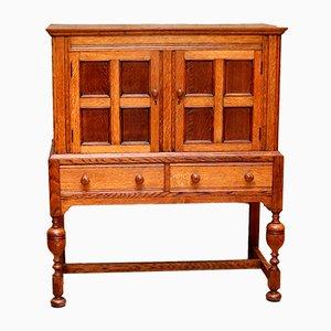 Vintage Oak Cabinet, 1920s