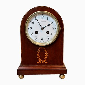Antique Glass Clock from Japy Frere