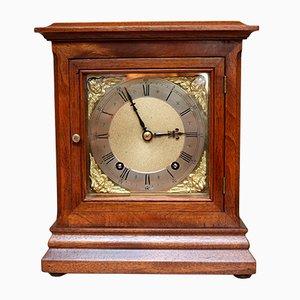 Reloj alemán antiguo de nogal de Winterhalder & Hofmeier