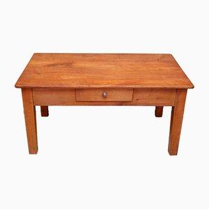 Mesa auxiliar de madera de cerezo