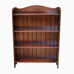 Antique Oak Wall Unit