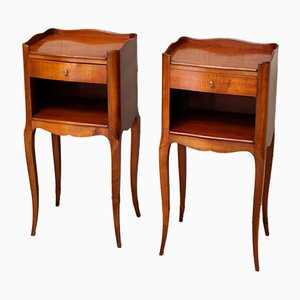 Mid-Century French Nightstands, 1950s, Set of 2