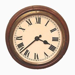Antike Uhr aus Eiche