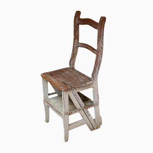 Antique French Beech Metamorphic Chair