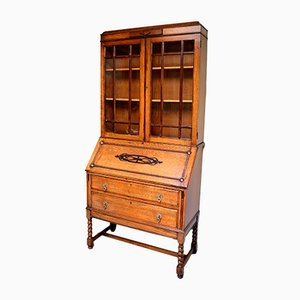 Vintage Oak Bookcase, 1920s