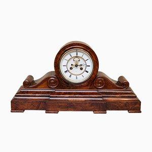 Reloj de chimenea antiguo victoriano