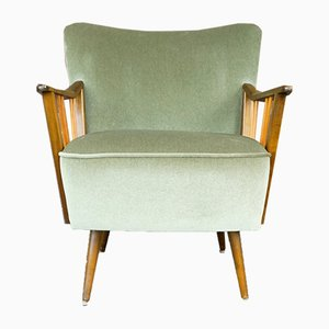 Scandinavian Modern Fabric Club Chair, 1950s