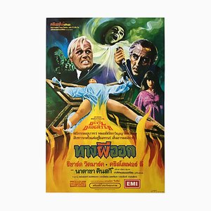 Thailändisches Vintage To the Devil's Daughter Filmposter, 1970er
