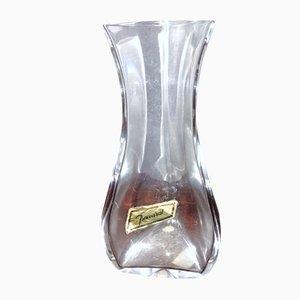 Jarrón de cristal de Baccarat, años 70