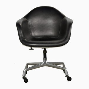 Leather Swivel Chair by Charles & Ray Eames for Herman Miller, 1983