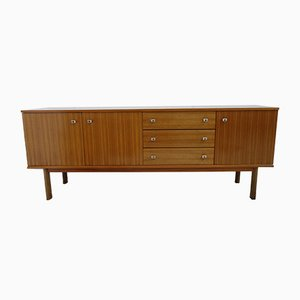 Mid-Century German Glossy Rosewood and Veneer Sideboard, 1960s