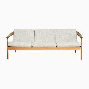 Schwedisches Mid-Century Colorado Sofa mit Gestell aus Teak von Folke Ohlsson für Bodafors, 1960er