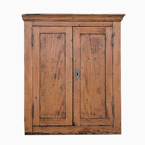 Antique Louis Philippe Style Italian Fir Cabinet