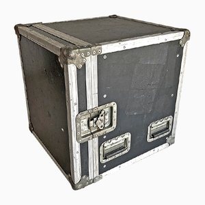 Industrial Aluminum and Wood Flight Case, 1980s