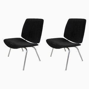 Side Chairs by Kho Liang Ie & Wim Crouwel for CAR Katwijk, 1950s, Set of 2
